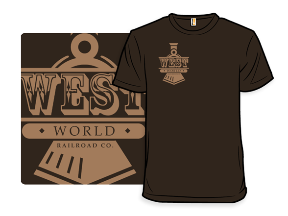 West World Railroad T Shirt