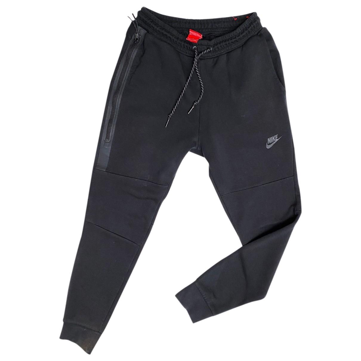 Nike \N Black Cotton Trousers for Men S International