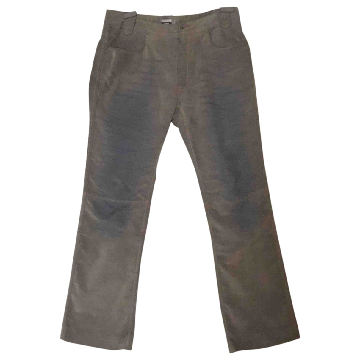 Paul Smith \N Grey Cotton Trousers for Men M International