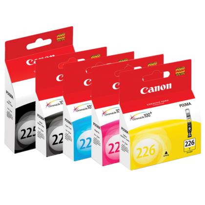 Canon PIXMA MG8120 cartouches encre PGBK/BK/C/M/Y originales, ensemble de 5 paquet