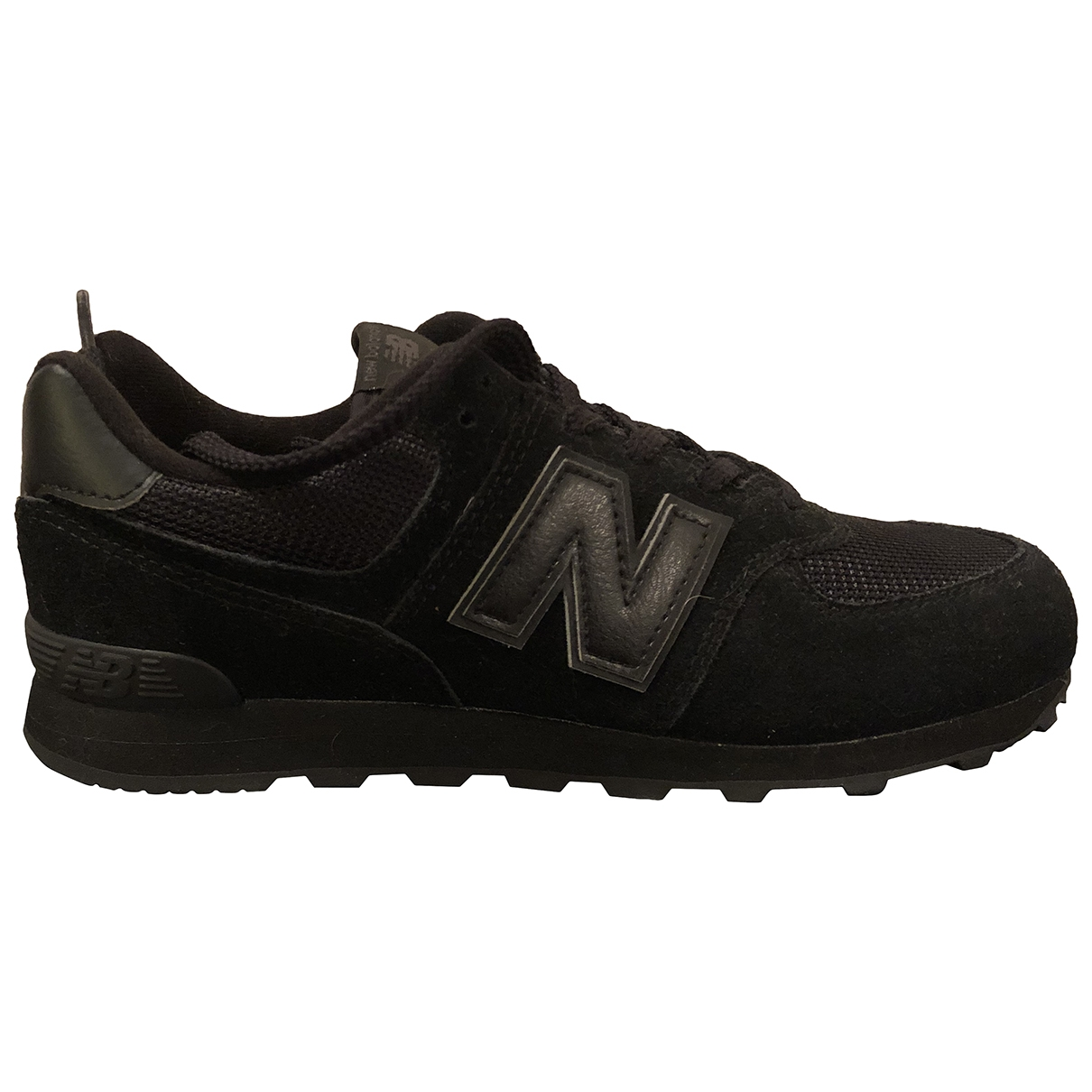 New Balance \N Black Suede Trainers for Women 38 EU