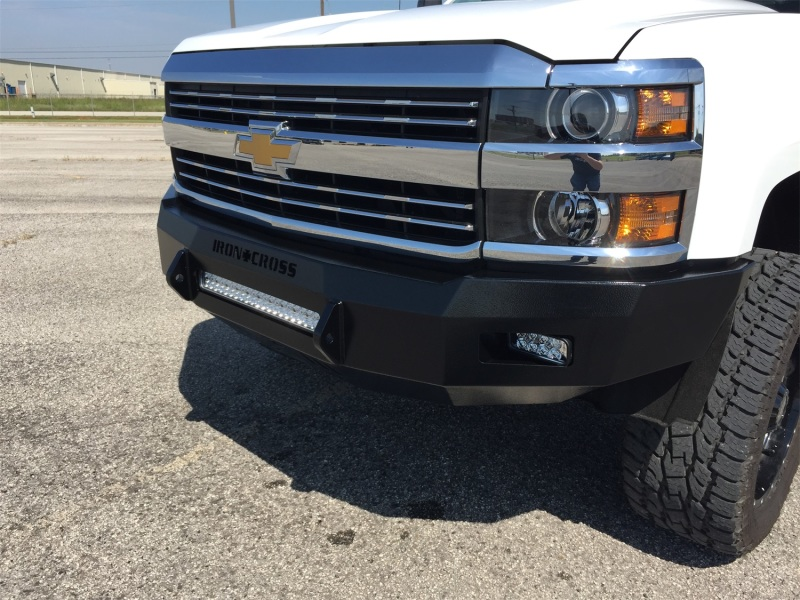 Iron Cross RAW 40-515-14 Low Profile Front Bumper - Primer Chevrolet Silverado 1500 2014-2015