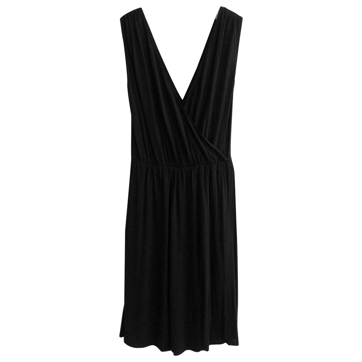 Maison Martin Margiela \N Black Cotton - elasthane dress for Women 42 IT