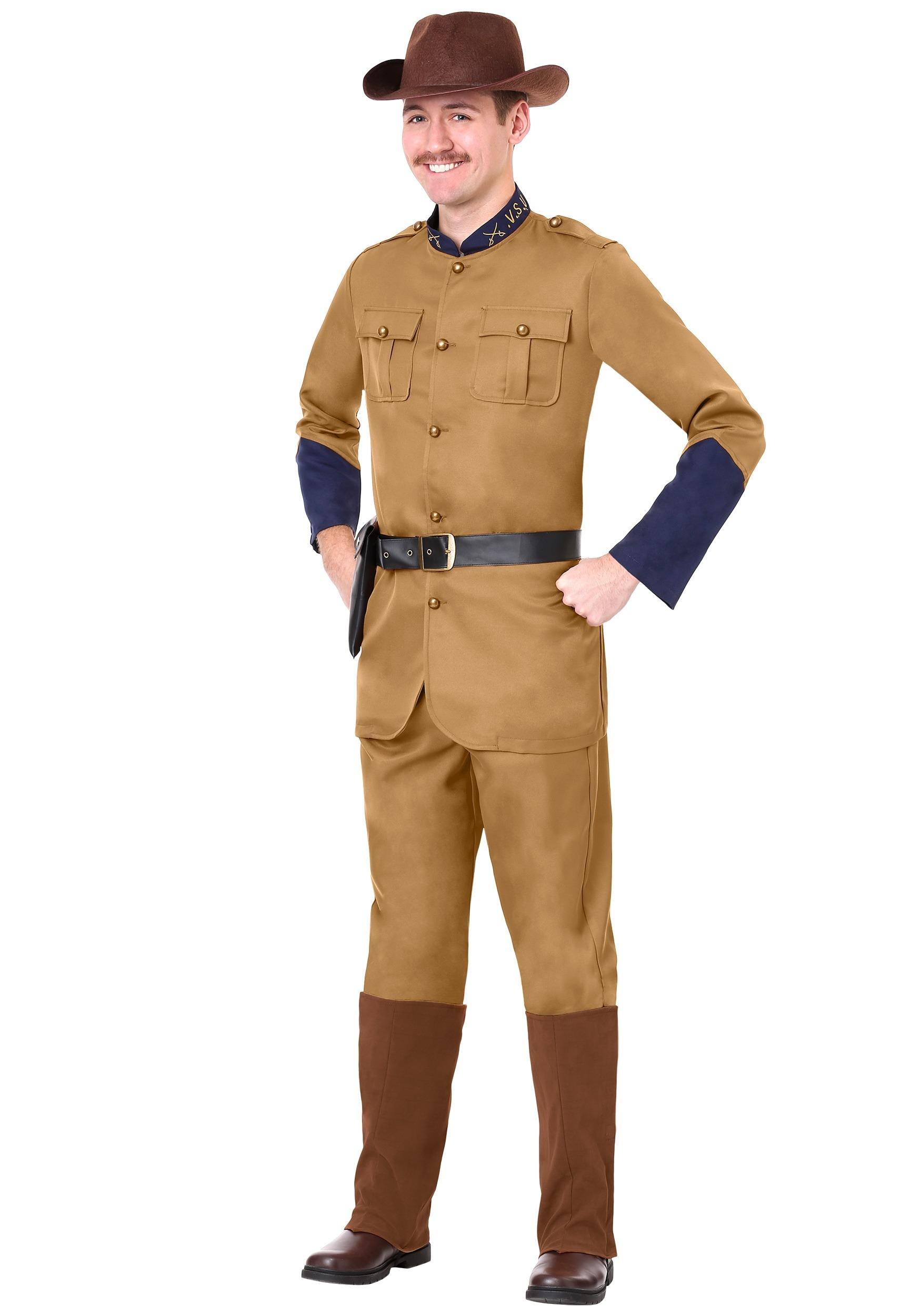 Teddy Roosevelt Men's Costume