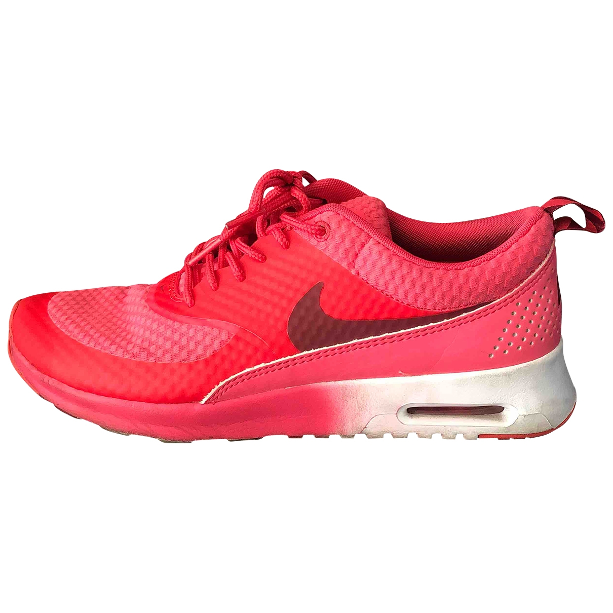 Nike Air Max  Pink Cloth Trainers for Women 40 EU
