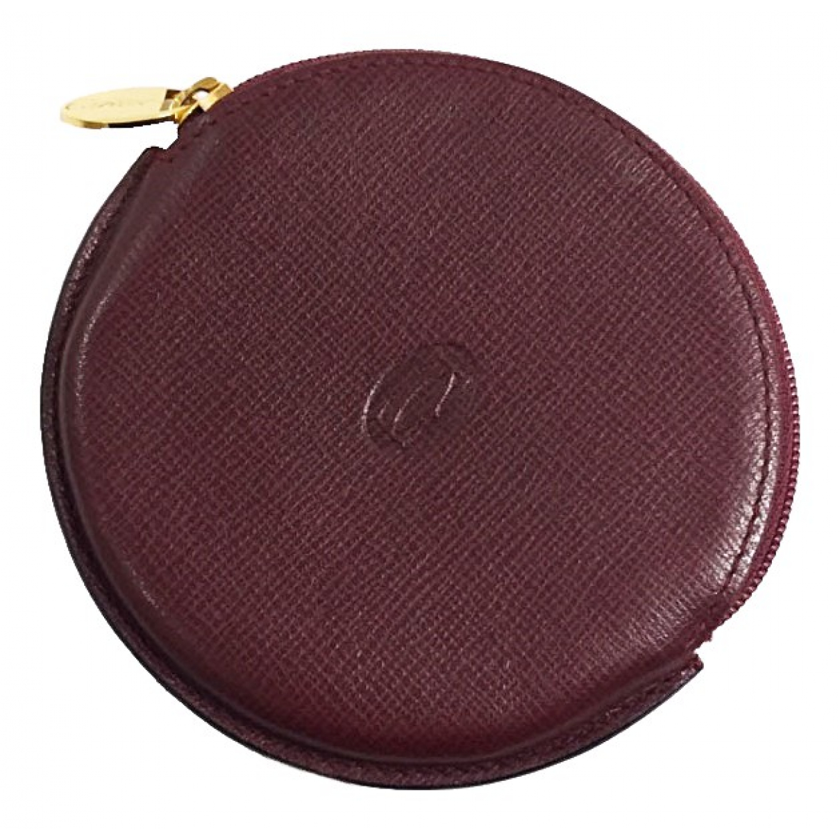 Cartier \N Burgundy Leather Purses, wallet & cases for Women \N