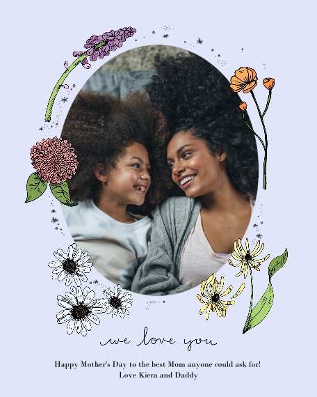 Family + Friends 8x10 Designer Print - Matte, Prints -We Love You