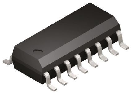 Vishay DG211BDY-E3 , Analogue Switch Quad SPST, 5 V, 9 V, 12 V, 15 V, 18 V, 24 V, 16-Pin SOIC (5)