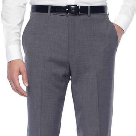 Collection by Michael Strahan Mens Classic Fit Suit Pants, 40 29, Gray