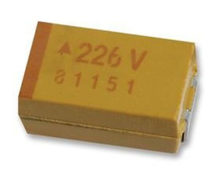 AVX Tantalum Capactitor 100μF 25V dc Electrolytic Solid ±10% Tolerance , TAJ (400)