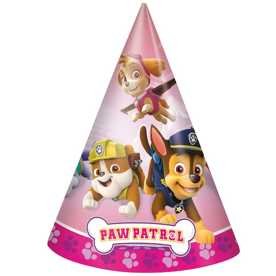 Girl Paw Patrol™ Party Hats, 8Ct By Nickelodeon | Michaels®