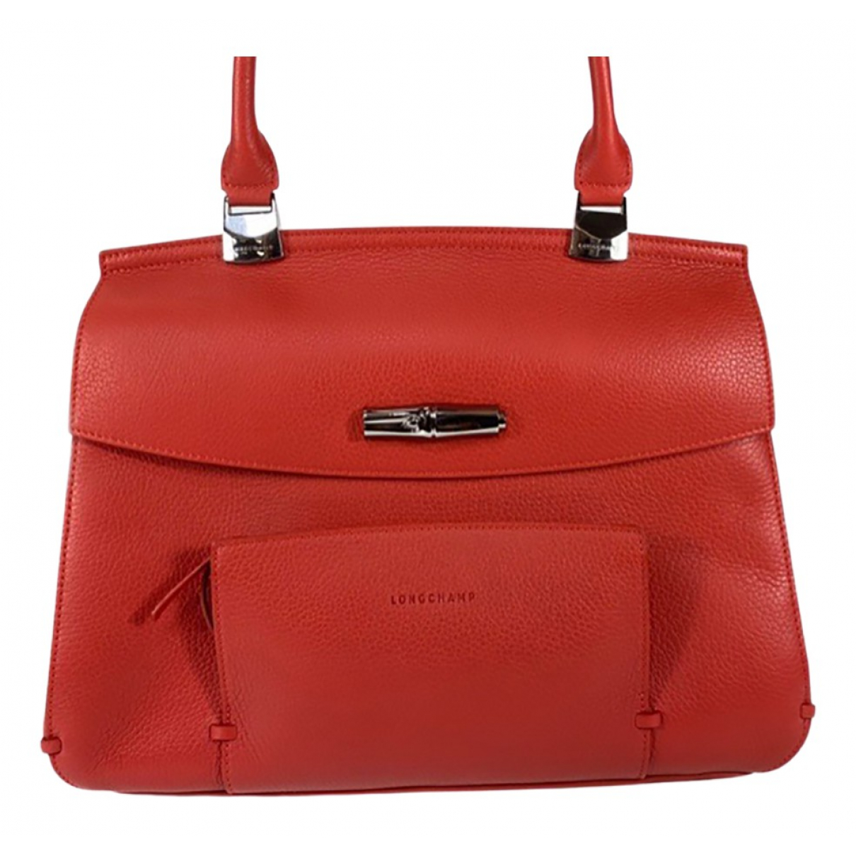 Longchamp \N Red Leather handbag for Women \N