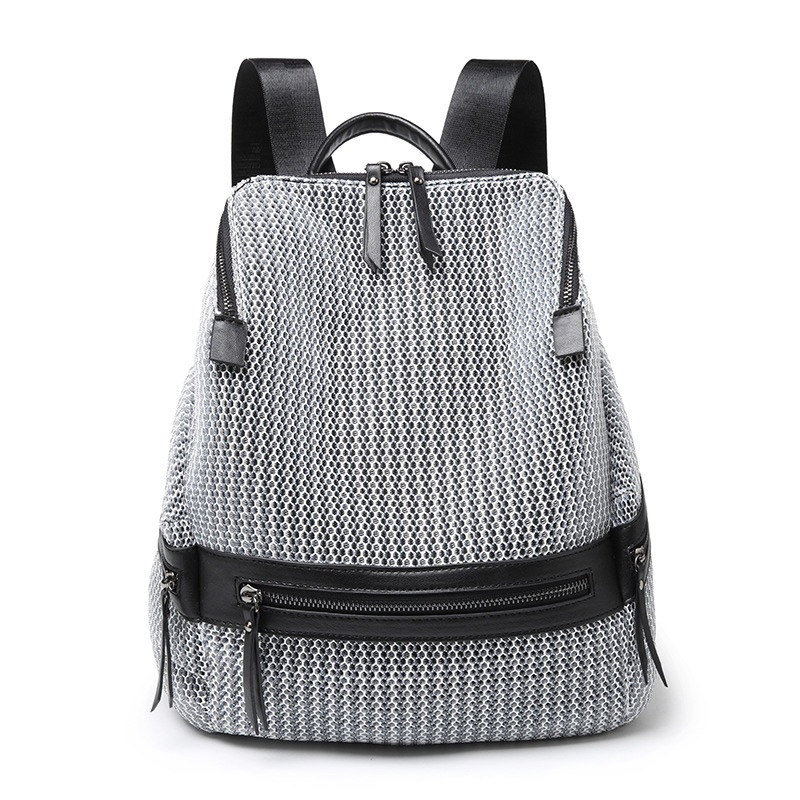 Ericdress Nylon Zipper Medium Backpack