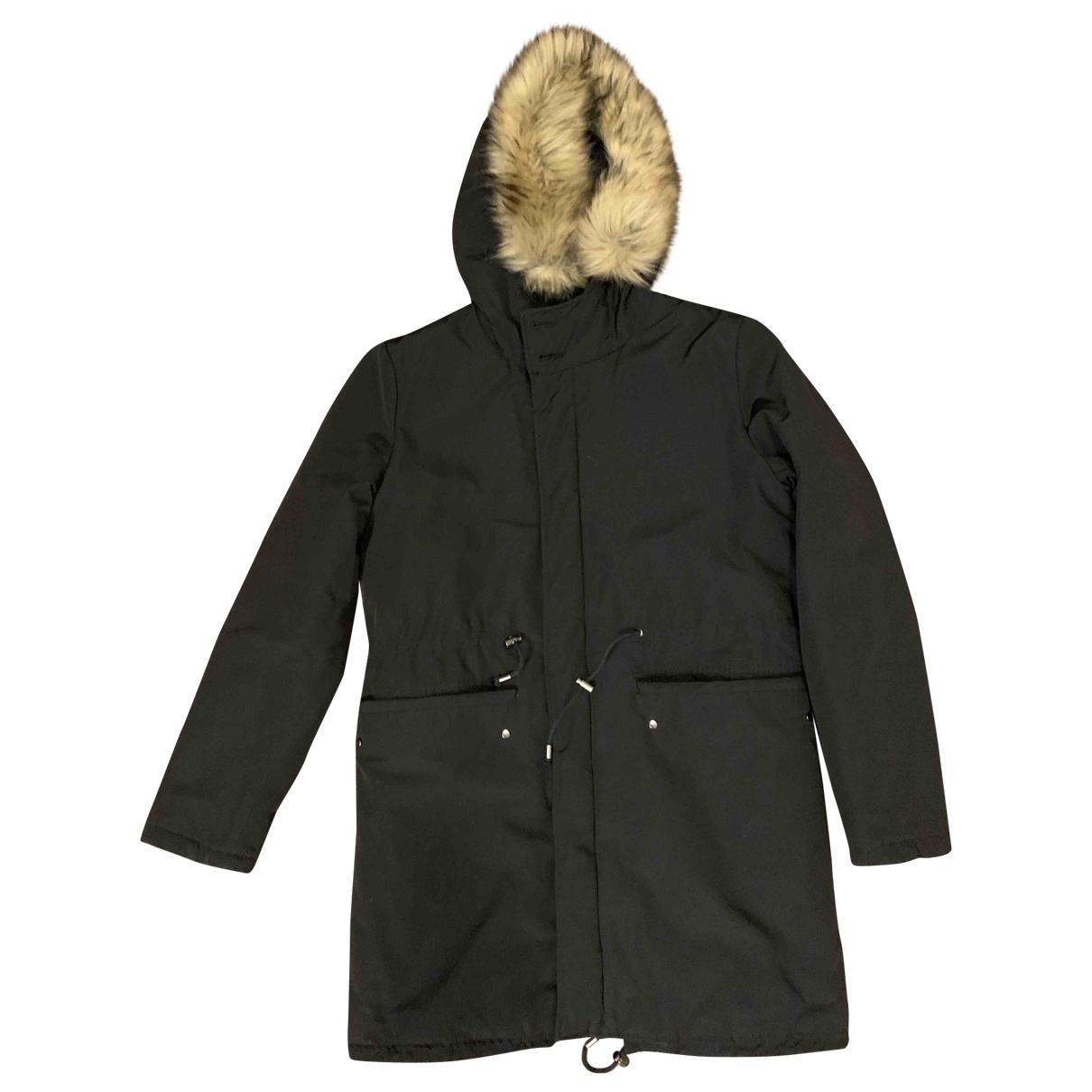 Zara \N Black Cotton coat  for Men S International