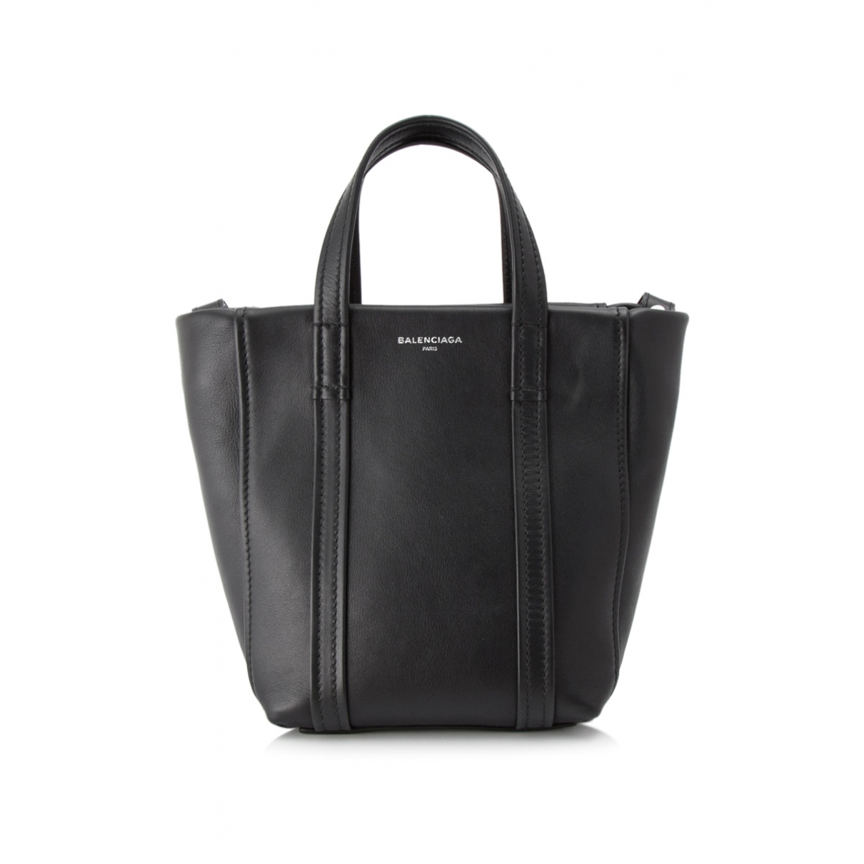 Balenciaga Laundry Cabas Black Leather handbag for Women \N