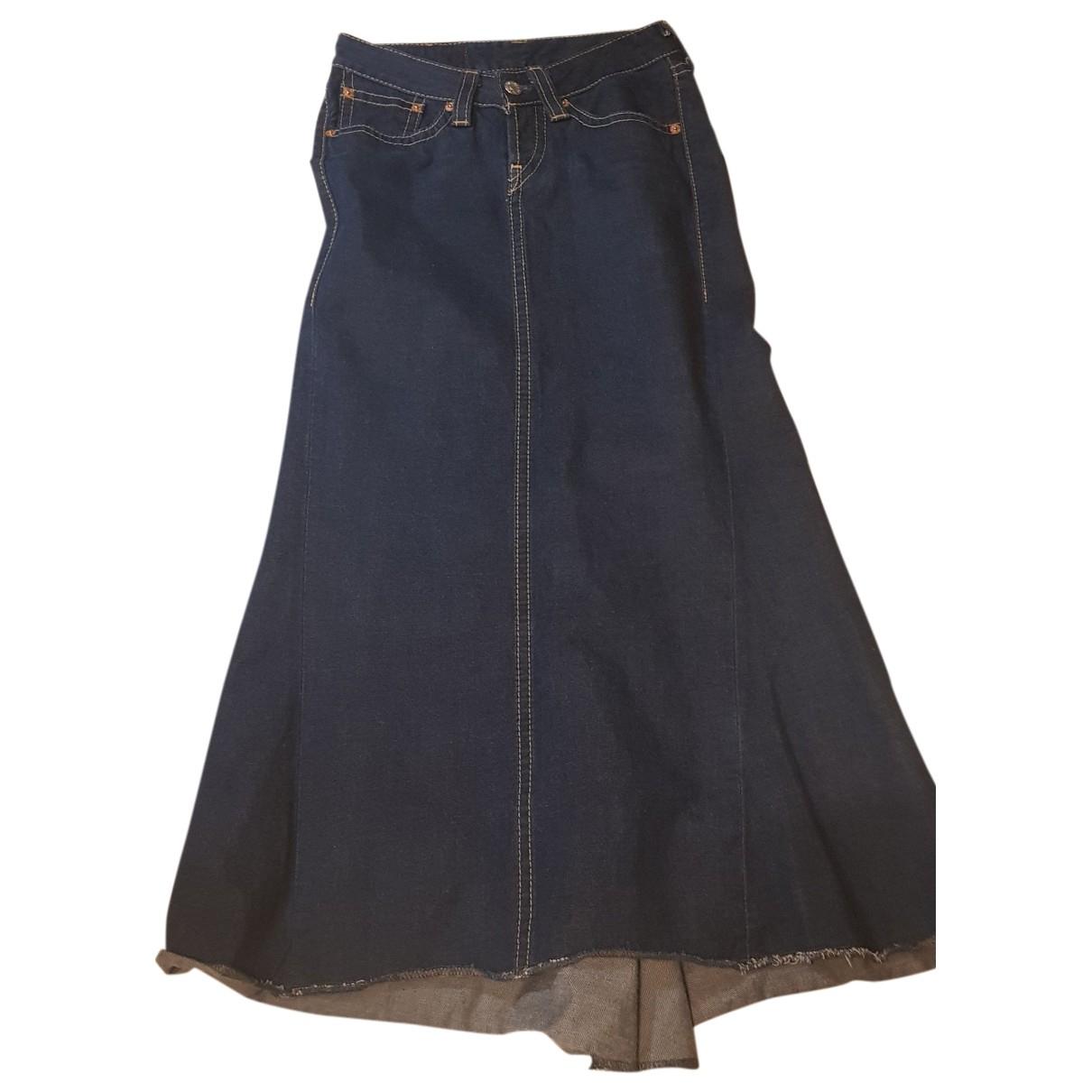 Levi's \N Blue Denim - Jeans skirt for Women 42 IT