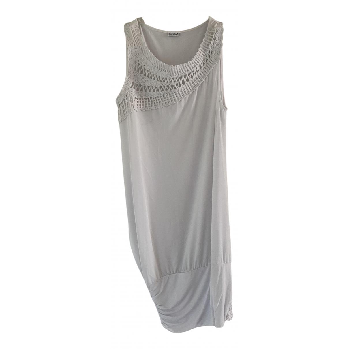 La Perla \N White dress for Women 44 IT