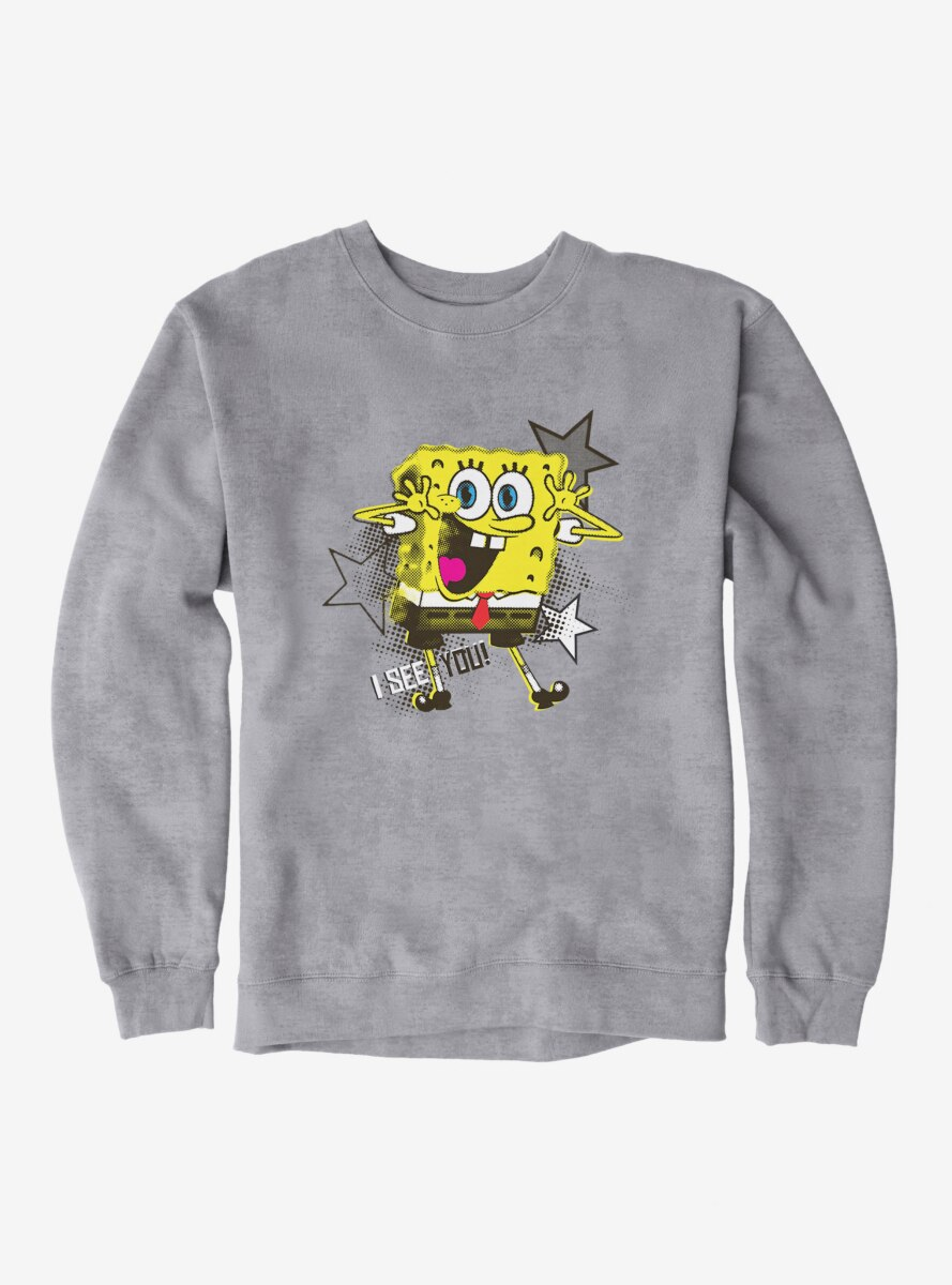 SpongeBob SquarePants I See You Stars Sweatshirt