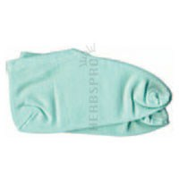 Moisturizing Foot Socks Solid Color Jade 1 Pair by Earth Therapeutics