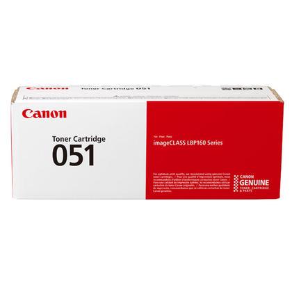 Canon 051 2168C001 Original Black Toner Cartridge
