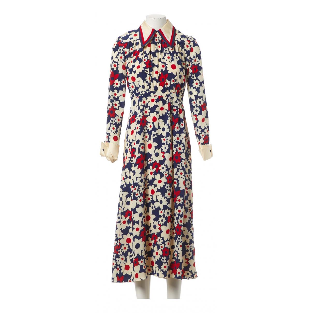 Gucci \N Multicolour Silk dress for Women 40 IT