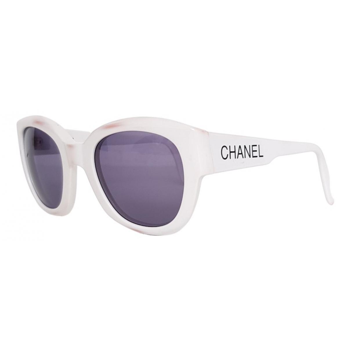 Chanel \N White Sunglasses for Women \N