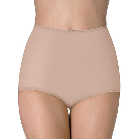 Bali Cool Cotton Skimp Skamp Brief Panty-2332, 9 , Beige