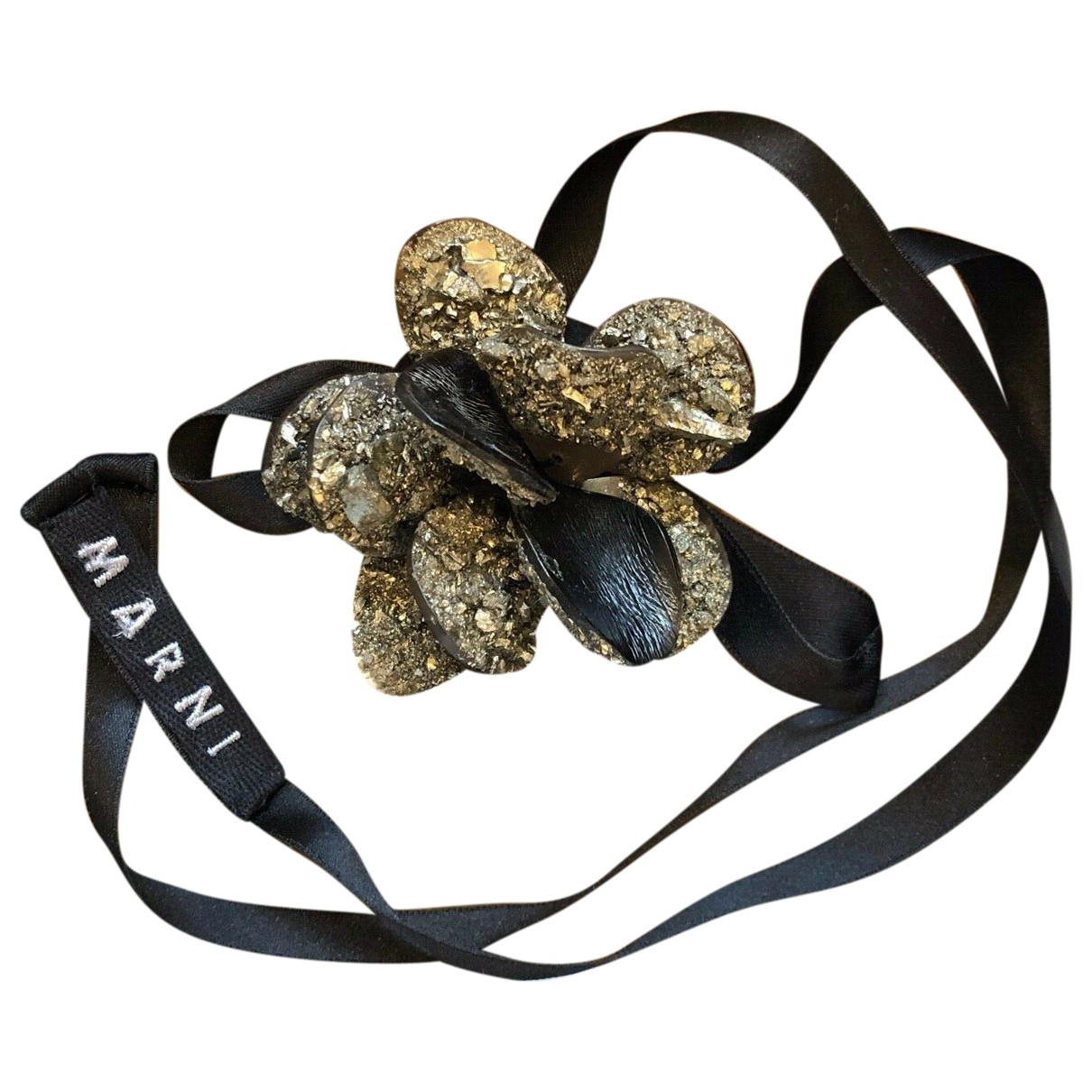 Marni \N Metallic Crystal necklace for Women \N