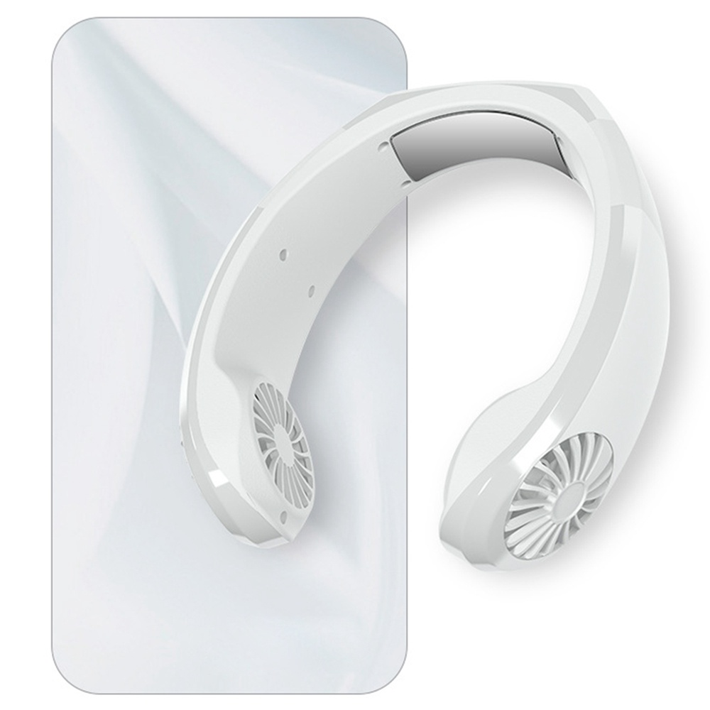 NEXFAN Portable Neck Hanging Fan White