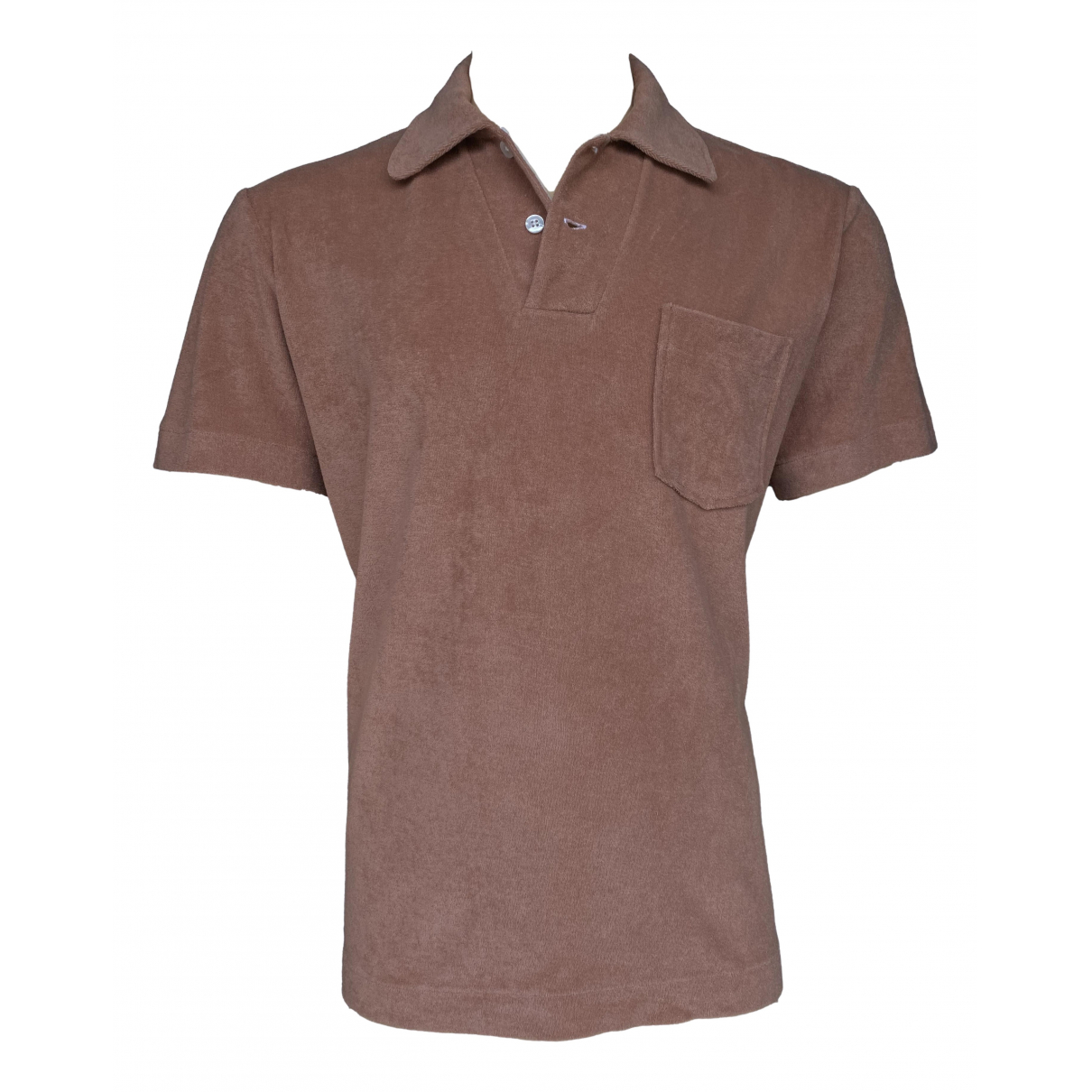 Tom Ford \N Brown Cotton Polo shirts for Men 54 IT