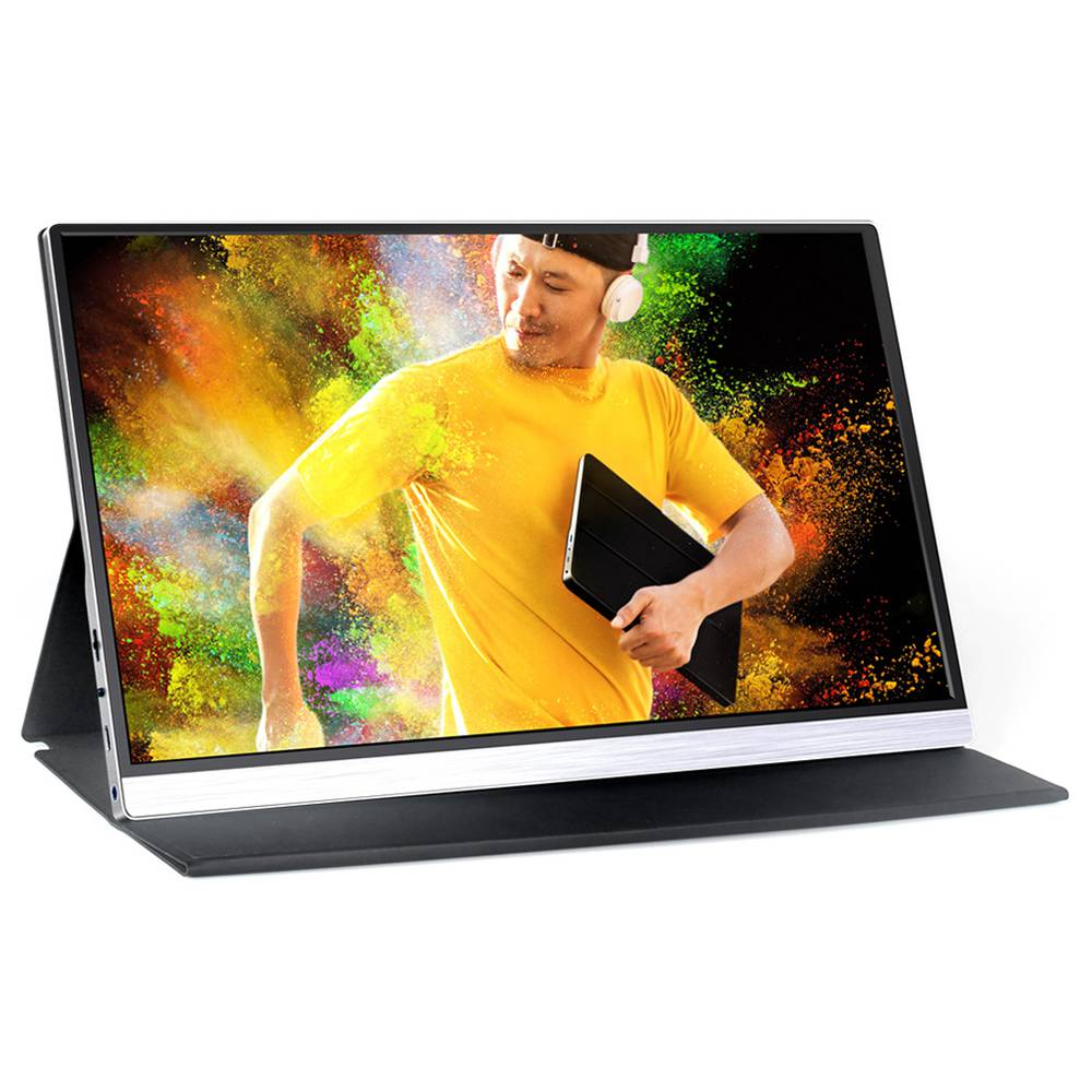 AOSIMAN CYS156FI 15.6 Inch 1080P IPS Portable Monitor Black