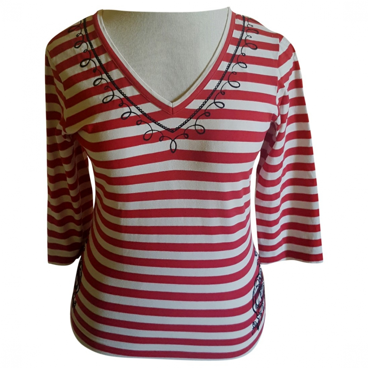 Jean Paul Gaultier \N Multicolour Cotton  top for Women 38 FR
