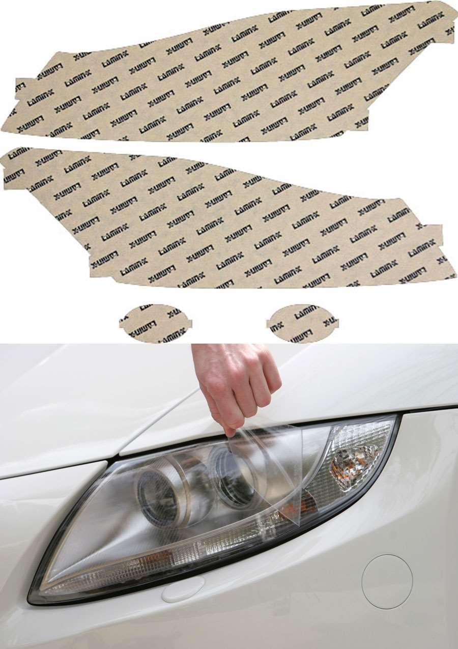 Honda Accord Sedan 08-10 Clear Headlight Covers Lamin-X H025CL