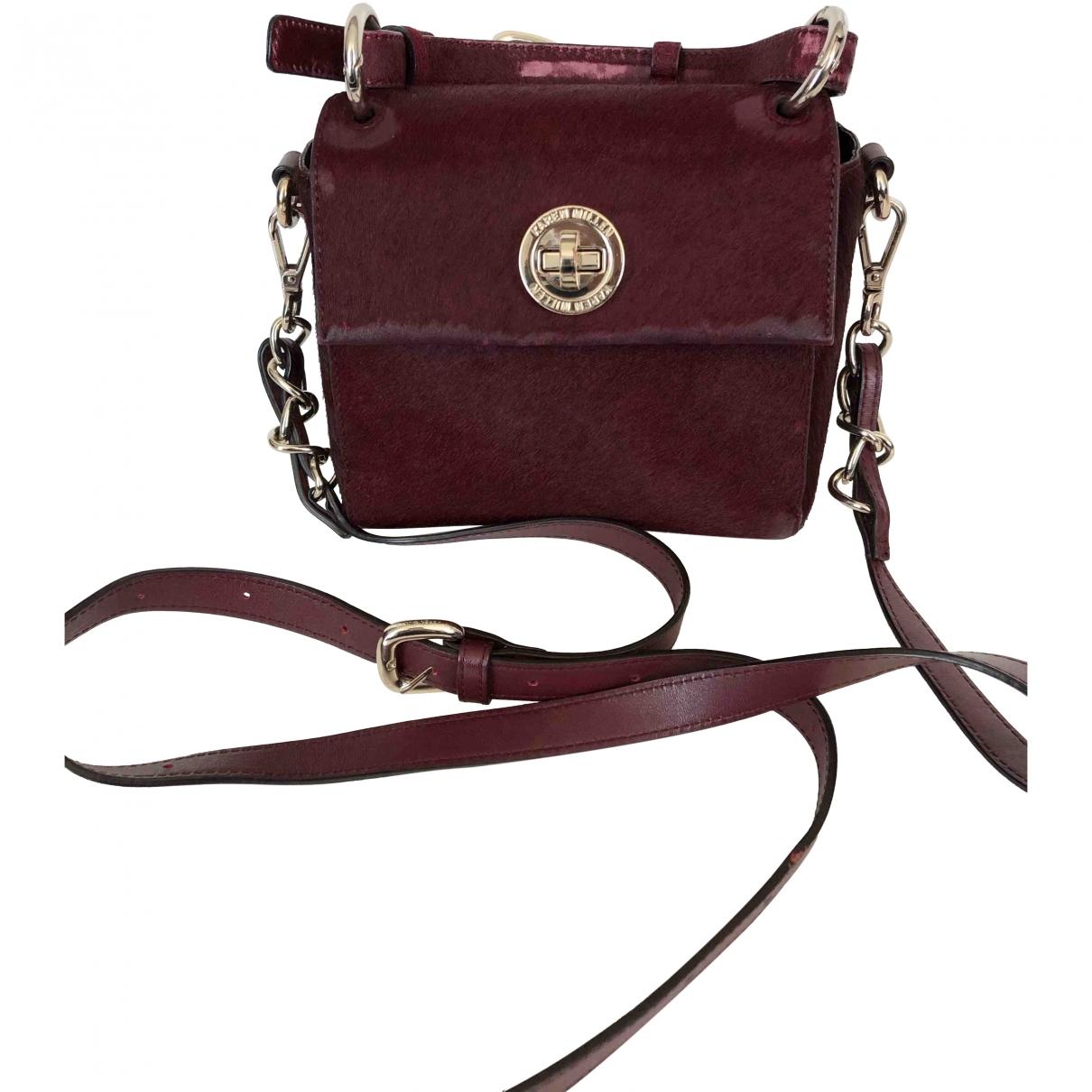 Karen Millen \N Burgundy Leather handbag for Women \N