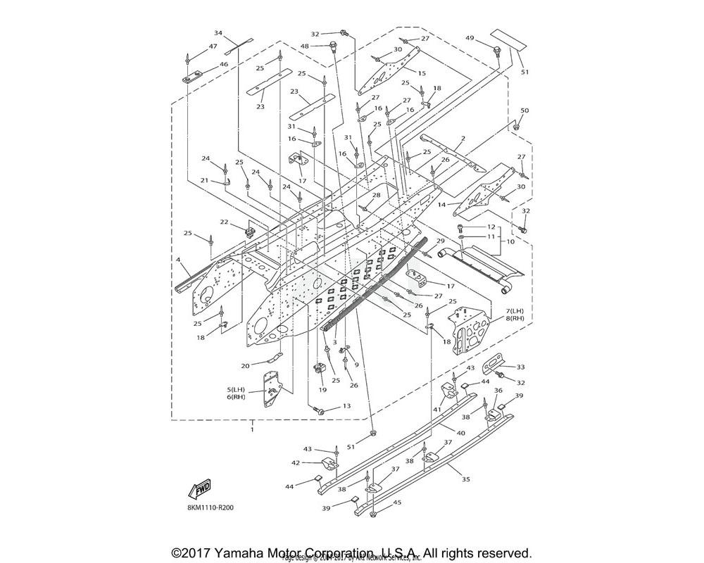 Yamaha OEM 8HG-21961-00-00 PATCH 1