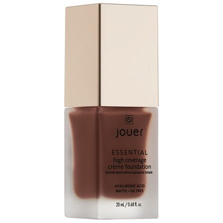 Jouer Cosmetics Essential High Coverage Cr??me Foundation, One Size , Beige