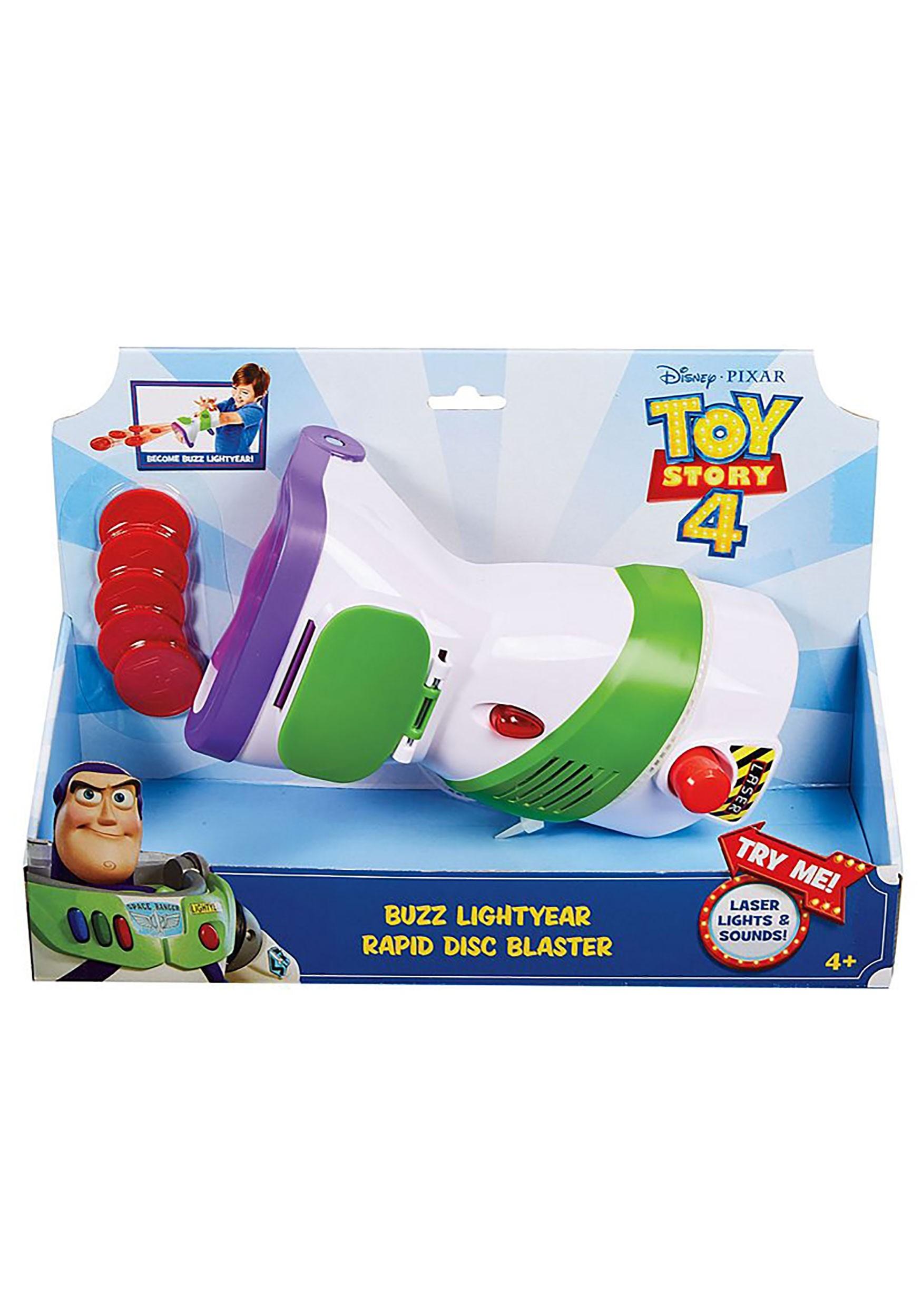 Disc Blaster Toy Story 4 Buzz Lightyear