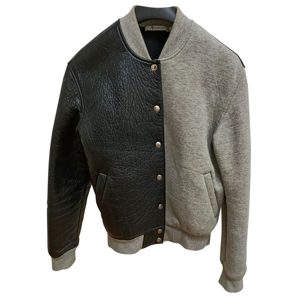 T By Alexander Wang \N Black Leather jacket for Women XS International