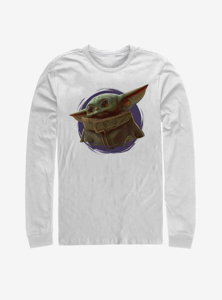 Star Wars The Mandalorian The Child Purple Ball Long-Sleeve T-Shirt