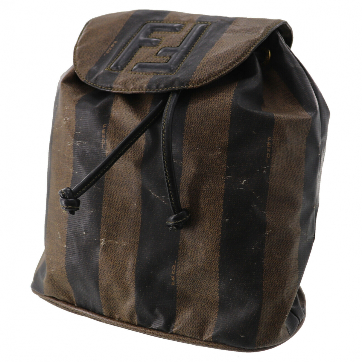 Fendi \N Leather backpack for Women \N