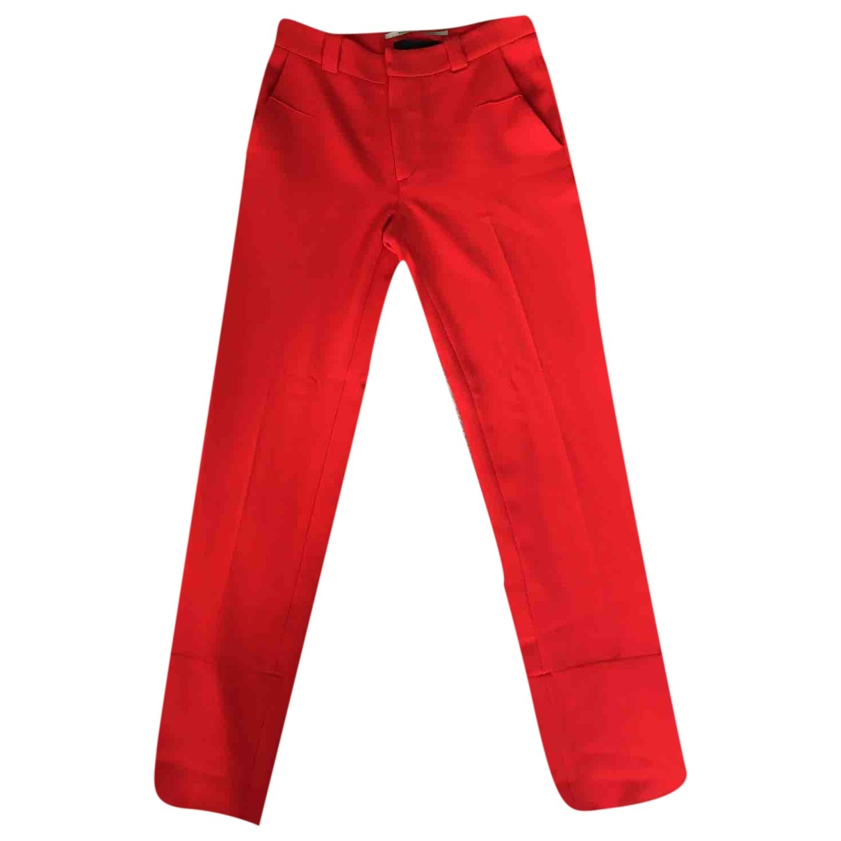 Roland Mouret \N Red Trousers for Women 8 UK