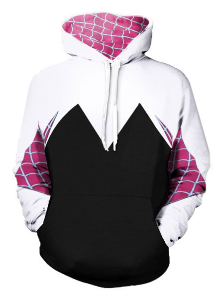 Milanoo Venom Gwen Stacy Halloween Cosplay Hoodie