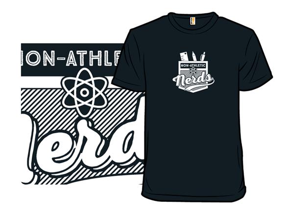 Non-athletic Nerd T Shirt