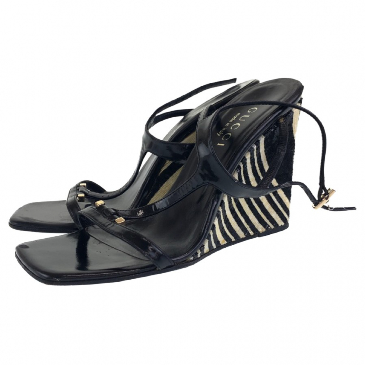 Gucci \N Leather Sandals for Women 38.5 EU