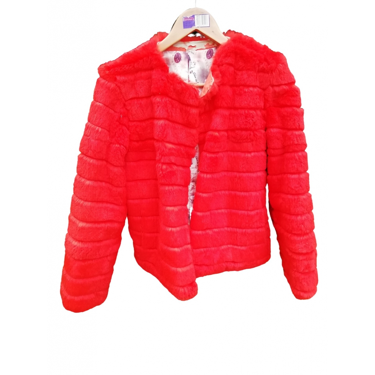 Non Signé / Unsigned \N Orange Rabbit jacket for Women One Size FR
