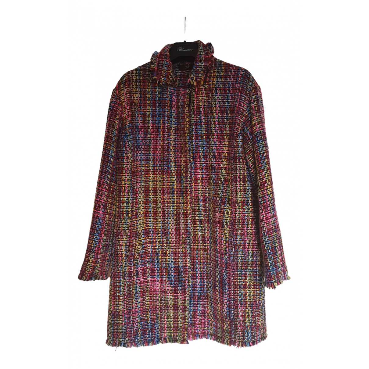 Non Signé / Unsigned \N Multicolour Cotton coat for Women 44 IT