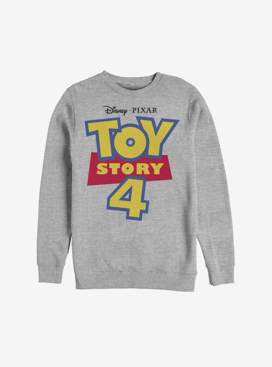 Disney Pixar Toy Story 4 Full Color Logo Sweatshirt