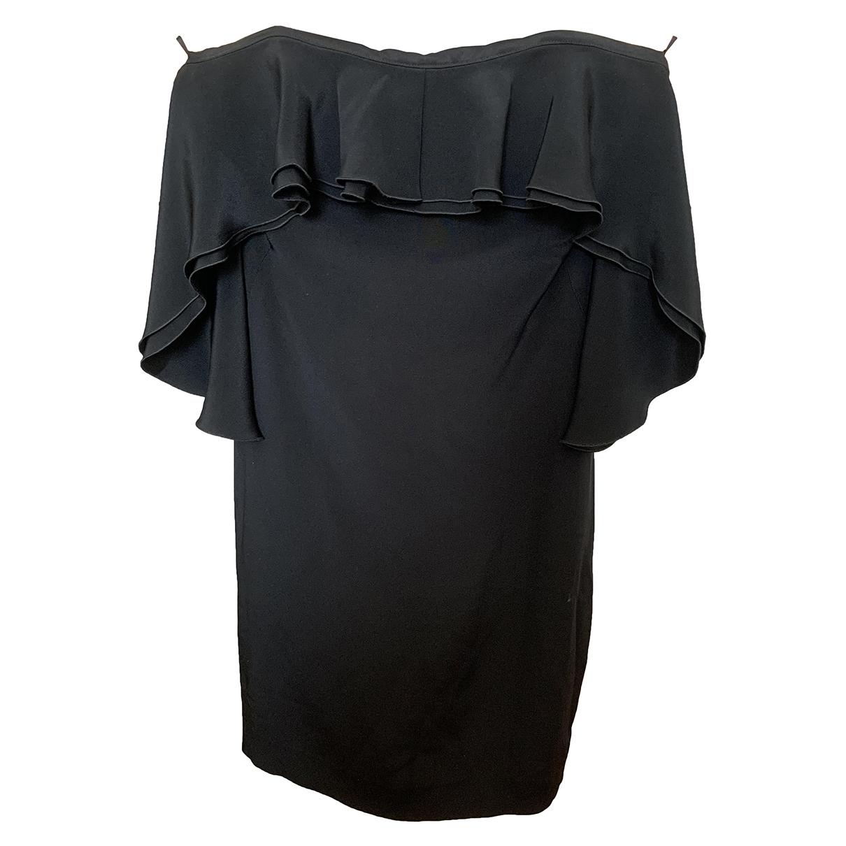 Paul & Joe \N Black Silk dress for Women 36 FR