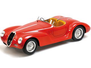 1939 Alfa Romeo Corsa 6C 2500 SS Spider Red 1/18 Model Car by Minichamps