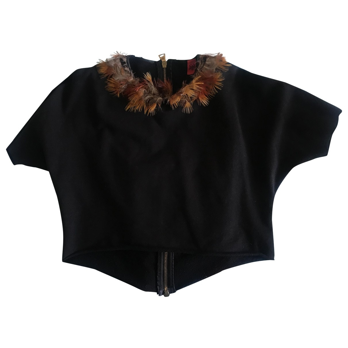 Jijil \N Black Cotton  top for Kids 14 years - S FR